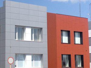 монтажа фасада композитная панель