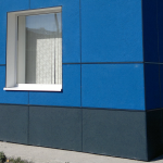 Фасад из ФАССТ плиты